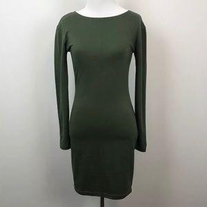 Lulu's Woman Size S Green Stretch Tunic Dress